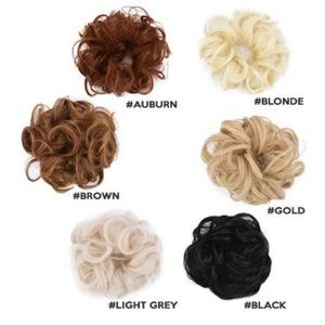 Accessories - NEW Messy Rose Bun In Colors Gold And Blonde